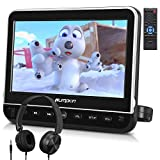 PUMPKIN 10.1 Inch Headrest Car DVD Player with Free Headphone, Support 1080P...