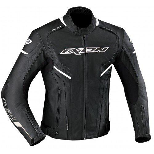 Ixon–Chaqueta Moto–Ixon stunter negro/blanco