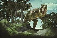 QMGLBG 500ピースの木製パズル 大人とティーンエイジャーに適した古代のティラノサウルスレックスパズルエンターテインメント教育玩具最高の