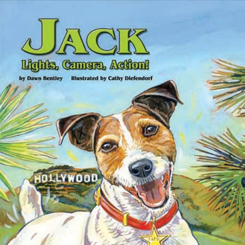 Jack: Lights, Camera, Action! audiobook cover art