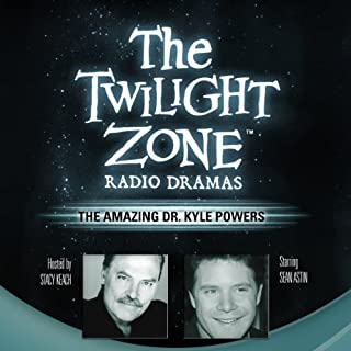 The Amazing Dr. Kyle Powers audiobook cover art