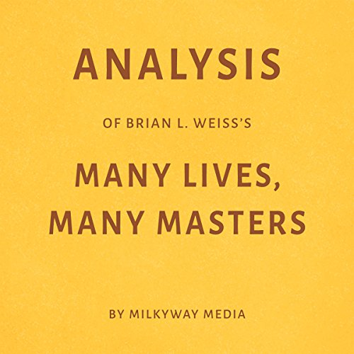 Analysis of Brian L. Weiss's Many Lives, Many Masters cover art