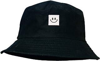 Sombrero Pescador,Sombrero de Pescador Tela de algodón y Poliéster Unisex Aire Libre Sombrero de ala Ancha Borde Redondo para Excursionismo Cámping De Viaje Pescar 56-58cm