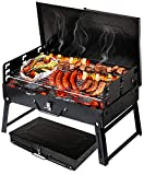 Holzkohlegrill Picknickgrill Kleiner Grill Klappgrill Tragbare BBQ Grill GC0015 Grill Holzkohlegrill...