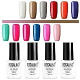 ROSALIND color gel esmalte de uñas semipermanente de larga duración...