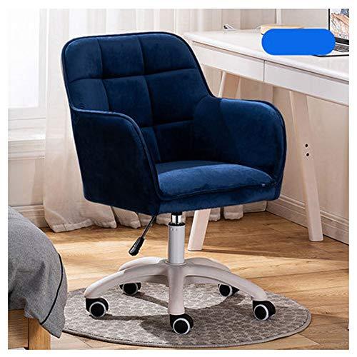 ZYF Silla Gaming Profesional Silla de Oficina Silla de Escritorio ergonómica Silla giratoria con reposabrazos Plegables Silla depara computadora Silla de Trabajo (Color : Sapphire Blue)