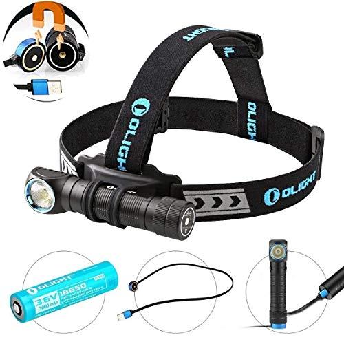 Olight H2R NOVA 多機能充電式LEDヘッドライト 最大2300ルーメン LED ヘッドランプ Cree XHP50 LED搭載LED...