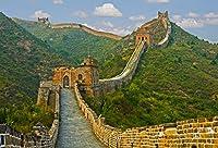 Amxxy 9x6ft中国万里の長城の背景歴史文化写真の背景世界的に有名な風景観光地屋内装飾壁紙ホリデーパーティーの背景写真スタジオ
