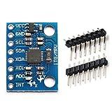 ARCELI GY-521 MPU6050 Módulo acelerómetro de 3 Ejes Giroscopio 6 DOF Acelerómetro Módulo de 6 Ejes Sensor giroscópico Transductor de Datos de Salida de 16 bits IIC para Arduino