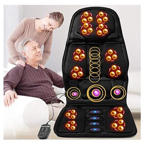 RUIMI Cuscino Sedile Massaggiante Vibrazione 8 Programmi di Massaggio Intensità di Vibrazione...