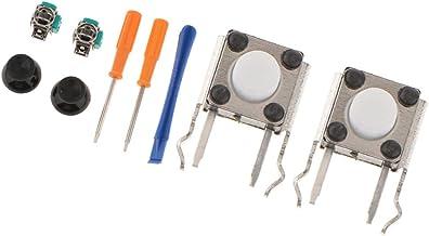 gazechimp Conjunto De Interruptor Tátil Do Joystick Analógico Com Tampa Analógica Para XBox One Controller + Tools