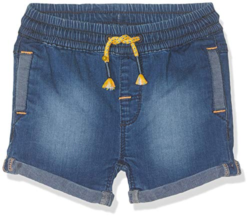 s.Oliver Junior Baby-Jungen 56.899.72.0744 Shorts, Blau (Blue Denim Stretch 55Z7), (Herstellergröße:86/REG)