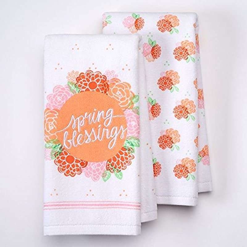 Celebrate Easter Together Spring Blessings Kitchen Dish Towels 2 Pk
