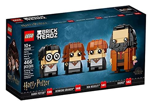 LEGO® BrickHeadz™ Harry Potter™ - Harry, Hermine, Ron & Hagrid™ (40495)