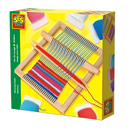 SES Creative Webset Kinder-Strickset, Mehrfarbig