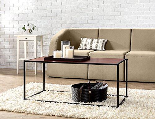 Zinus Troy Modern Studio Collection Classic Rectangular Coffee Table