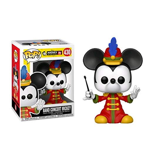 C&S Band Concert Mickey 90e verjaardag Mickey Mouse POP PVC landschap decoratie ornamenten hars ambachten pop