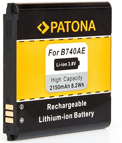 PATONA - Ersatz für Akku Samsung B740 AE - Intelligentes Akkusystem - zu NX Mini NX3000 EV-NXF1 Galaxy S4 Zoom Zoom LTE SM-C1010