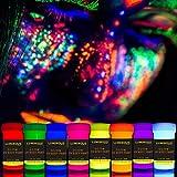 LUMINOUS UV Body Paint Set