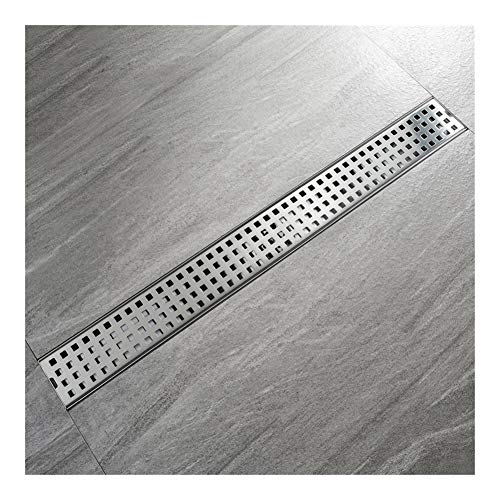 Find Cheap XIAOF-FEN Bathroom Linear Floor Drain ,mesh Large Displacement Deodorant 304 Stainless ...