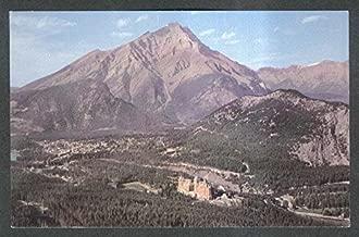 Banff Springs Hotel Cascade Mountain Canadian Rockies postcard 1950s