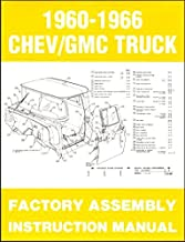 1960 1961 1962 1963 CHEVY PICKUP TRUCK Assembly Manual