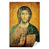Postereck - 0941 - Zeichnung Jesus, Alt Kirche Glaube