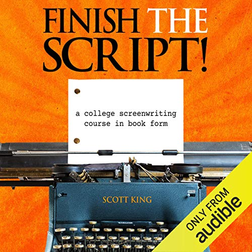 Finish the Script! audiobook cover art
