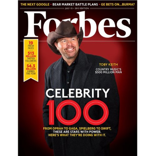 Forbes, July 1, 2013 cover art