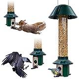 Squirrel Proof Wild Bird Feeder - Roamwild PestOff (Mixed Seed / Sunflower Heart Feeder)