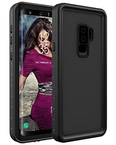 Lontect Galaxy S9 Plus Waterproof Case Built-in Screen Protector