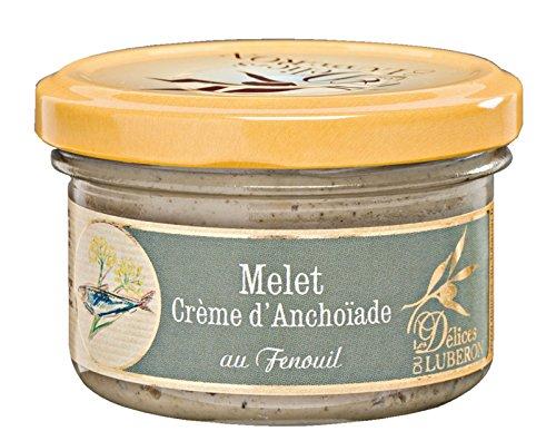Les Délices du Luberon - Melet Crème d'Anchoiade (Sardellencreme mit Fenchel) 90 g