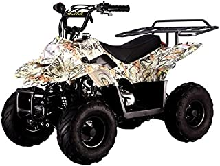 SMART DEALSNOW Brings Brand New 110cc ATV 4 wheeler fully automatic for kids - New TREE CAMO color