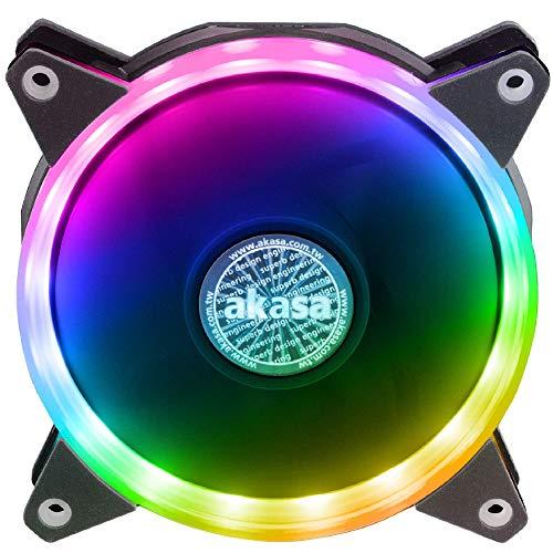 Akasa AK-FN099 - Ventilador de PC (Carcasa del ordenador, Ventilador, 1500 RPM, 23,8 dB, 35,2 cfm, 1,04 mmH2O)