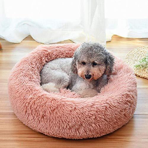 MKDLB Huisdier Kat Bed, Warm Ronde Huisdier Bedden Hond Mand Wasbare Donut Nest Waterdicht Voor Slaap Winter
