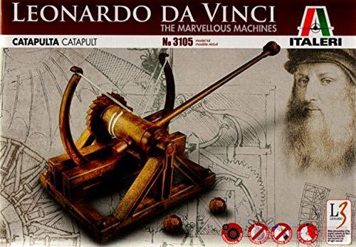 Italeri IT3105 CATAPULTA Leonardo DA Vinci cm 26,5 MODELLINO Die Cast Model Compatible con