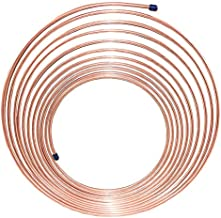 4LIFETIMELINES Copper-Nickel Brake Line Tubing Coil - 3/16 Inch 25 Feet