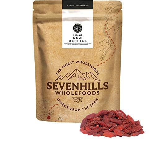 Sevenhills Wholefoods Organic Raw Goji Berries 1kg