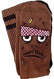 Toy Machine Poo Poo Poo Head Brown Socks Original One Size