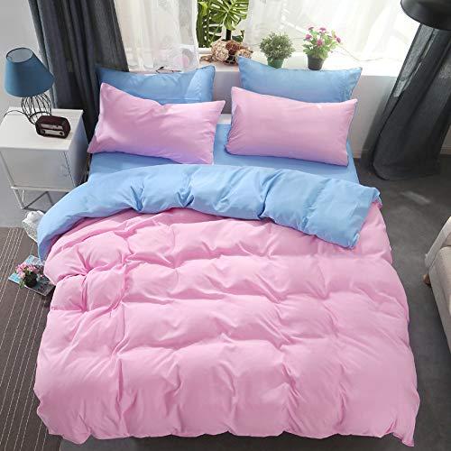 GYYJW Einfarbige, Vierteilige, Einfache Bettdecke