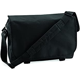 BAGBASE MESSENGER BAG (BLACK)