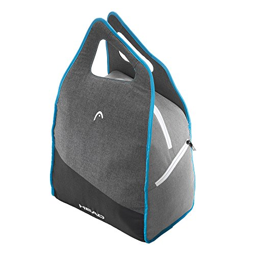 Head Cabeza de la Mujer Bolsa para Botas de esquí, Color Negro/Gris/Azul, Talla única