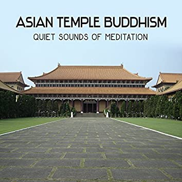 Asian Temple Buddhism: Quiet Sounds of Meditation, Exploring the Inner Silence, Road Leading to the Buddha, Natural Green Zen Garden