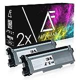2 Toner kompatibel zu Dell E310 für E310dw, E514dw, E515dn, E515dw - 593-BBLH - Schwarz je 5.200 Seiten