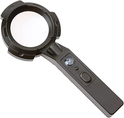 虫眼鏡コンパスが付いている8回のHDの読書識別屋外の手持ち型のポータブル