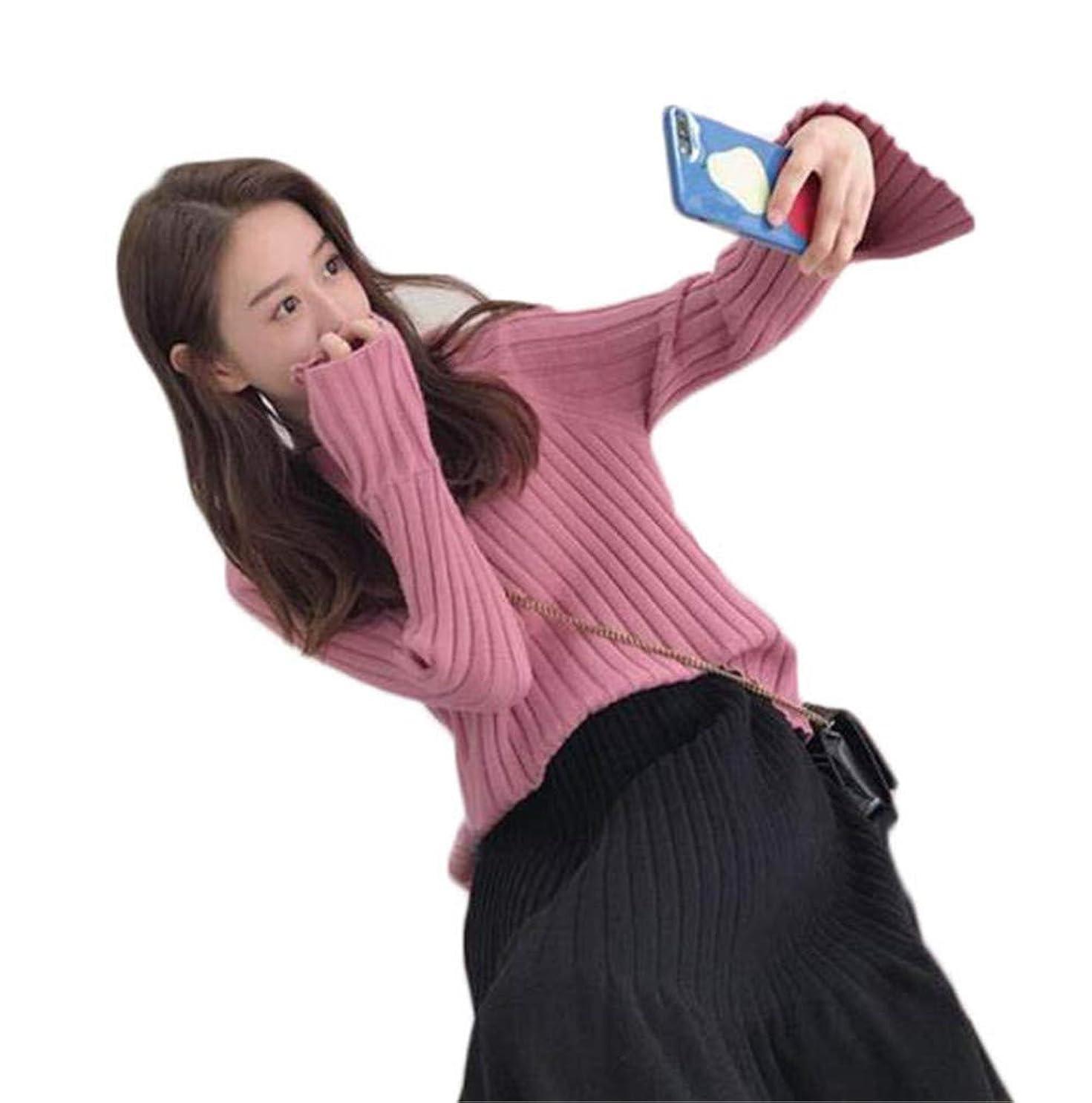 ボックスフレッシュ処理レディース ジャージ セーター + スカート ゆったり ニットセーター コーディネート ニットスカート 体型カバー ファッション 可愛い 森ガール 着痩せ