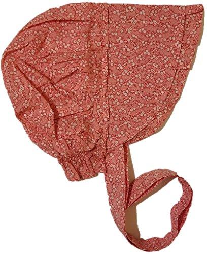 Americana Adult Large Prairie Sun Bonnet (Various Colors), Pink, Size Large