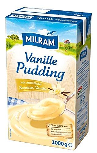 MILRAM Pudding-Creme Vanille, 12er Pack (12 x 1 kg)