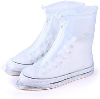 防水靴カバー 靴カバーレインシューズカバー男性と女性の靴カバー防水雨の日の耐摩耗性の厚さの下の子供の雪 - 防水屋外防水靴カバー