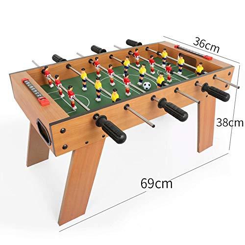 GG-Kinderspielzeug Baby-Foot pour Enfants Jouets de Tennis de Table Consoles de Jeu multijoueurs Parent-Enfant Adulte Machines de Football en Salle Famille Jouets éducatifs pour Enfants